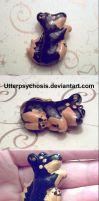 Aww a doggie charm by UtterPsychosis