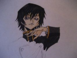 Lelouch being Lelouchy by FeenixDOWN