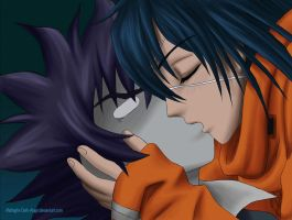 AG - Akito x Ikki Luv by Midnight-Dark-Angel