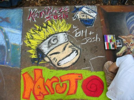 Naruto Graffiti by amuck50