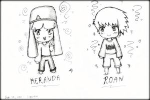 CM Roan and Meranda by kur0nek013