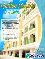 NEWSPAPER AD:GOLDEN HEIGHTS by arianedenise