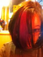 i died my hair black and purple 2 by lisabean