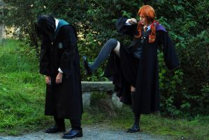 Kick ass - Snape and Lily by Shizuku-Seijaku