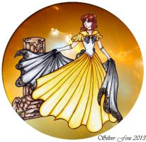 Warrior Princess Ceres by srebrnylis