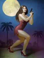 Moon over Miami by PaulAbrams