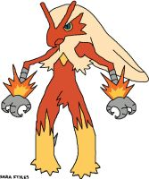 Bantam the Blaziken by BlueSkyWarhawk