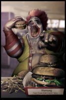 ronald mcdonald by BBarends