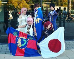 Two nations- Code Geass cosplay by XiXiXion