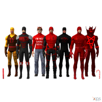 MH - Daredevil Pack by Postmortacum