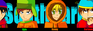 KENNY Y U SO CUTE by CookiemonsterMS