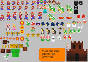 Revamped Mario Basics by Riku4526
