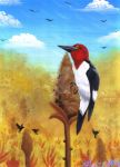 Field Woodpecker by Kineil-Wicks