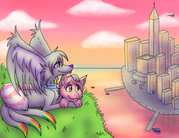 Skyline by MizAmy