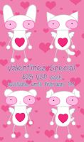 Valentine's Special by plushrooms