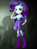 Equestria Girls - Rarity by Lethal-Doorknob