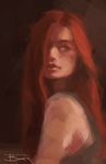 Lily Evans by blvnk-art