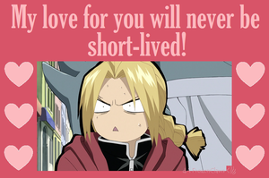 Fullmetal Valentine: Never Short-lived! by FrozenClaws