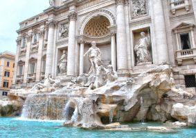 Trevi Fountain by raemack