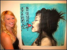 My first Gallery showing (GHP 2010) by Imagine-athena