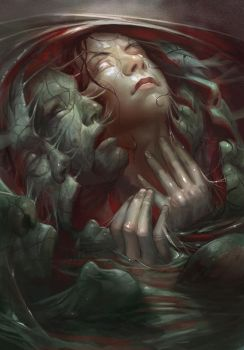 Month Of Fear: Metamorphoses by juliedillon