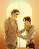 [Eruri] - Stop it, Erwin, you're in the way by katsu-ai