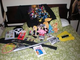 My Haul from Ikasucon 2011 by snowcloud8