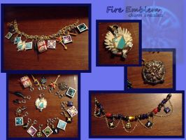 FE charm bracelets by EruwaedhielElleth