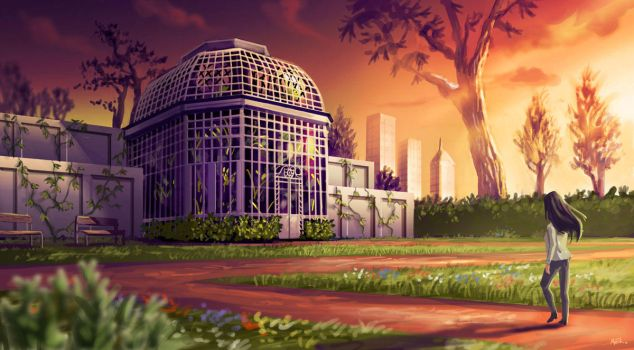 The Greenhouse by FabienMater