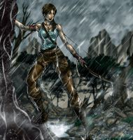 Tomb Raider Contest by Osmar-Shotgun