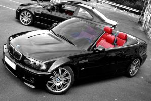 BMW m3 coupe et cab  .. by psycko91