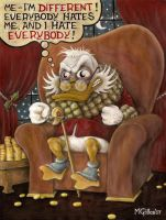 Scrooge McDuck, 1947-2007 by postdeification