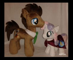 Dr Whooves and Sweetie Belle by MLPT-fan