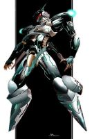 Jehuty Zone of Enders by Hellghost000