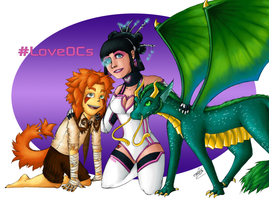LoveOCs Contest Entry by accasperberry3