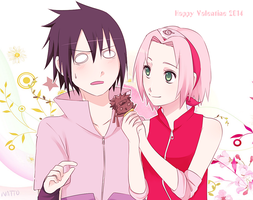 Happy Valentine 2014 by nattouh
