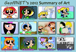 2012 Summary of Art by GeoffNET