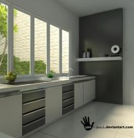 simple kitchen2 by yoel-touch