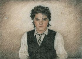 Gerard Way Portrait by radarlove413