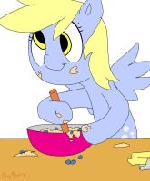 Muffin Making by up-down-x