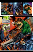 DC tryout page 1 colored by gammaknight
