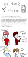Music Meme by NoShakingThrone