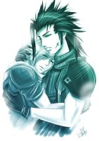FF7: dont leave me by DarkLitria