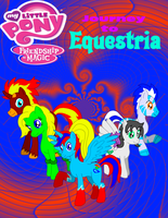 MLP;FIM Journey to Equestria Poster by CryoflareDraco