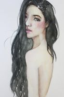 untitled watercolor by kyzelle16