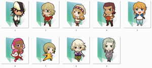 Tiger And Bunny Folder Icons by Ginokami6