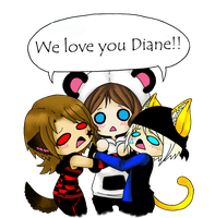 For My Lovely Diane by M-Shisaru