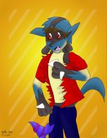 Lucario Tf Revisited by 3waycrash