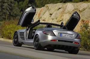 Mercedes-Benz SLR McLaren Back by TheCarloos