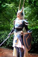 Warrior of light by AndreaOfTheLand